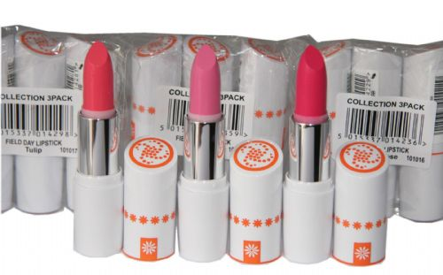 12 x Collection Field Day Lipsticks | 3 shades |  RRP £36 | Wholesale
